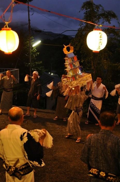 有東木盆踊り